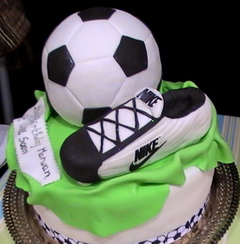 Football Themed Cake Images