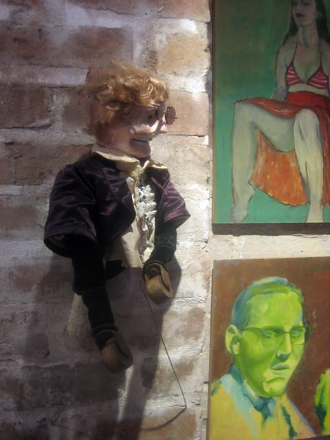 puppet, portraits | Jacquelyn Mang, Rose McBurney | Fatal