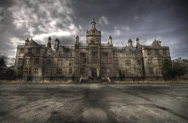 Denbigh Abandoned Asylum The Grand Admin Block Of The