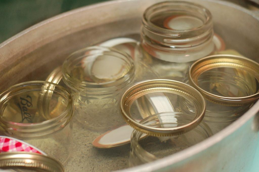 Sterilizing jars marisa mcclellan flickr for How long to sterilize canning jars