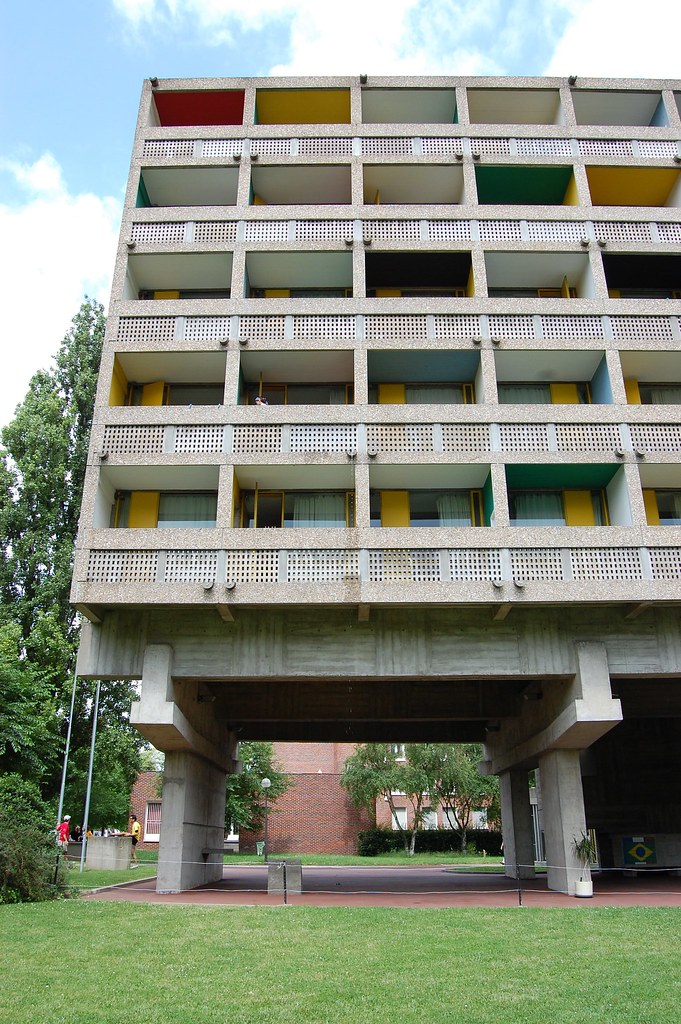Maison du br sil paris le corbusier 1957 59 student acco flickr - Maison du bresil paris ...