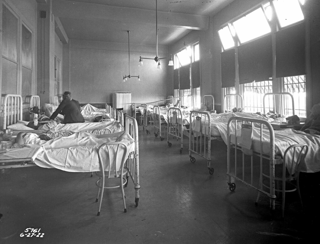 City Hospital, 1922 | Item 2654, Engineering Department Phot… | Flickr