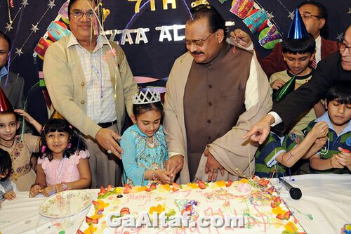 Hussain Daughter Afza