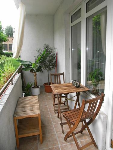 Ikea Small Balcony Decorating Ideas: Repurposed IKEA On The Balcony