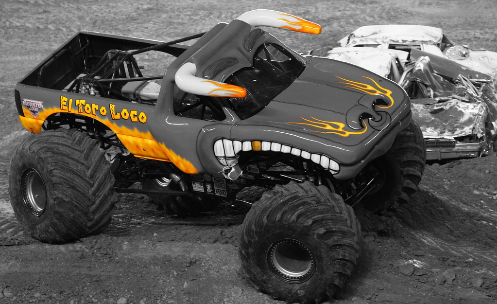 The Markings Of El Toro Loco