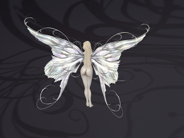 Lilt Fairy Wings in Silver Moon Flickr Photo Sharing