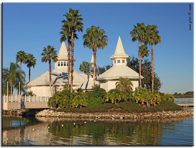 Net Wedding Pavilion At Disney World Resort