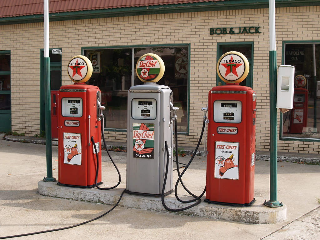 texaco gas pumps knightstown in bill flickr