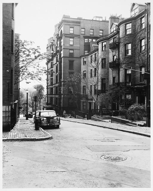 Beacon Hill, Joy Street Toward Beacon Street And Boston Co