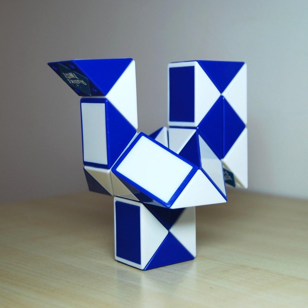 Фигурки из змейки рубика как сделать