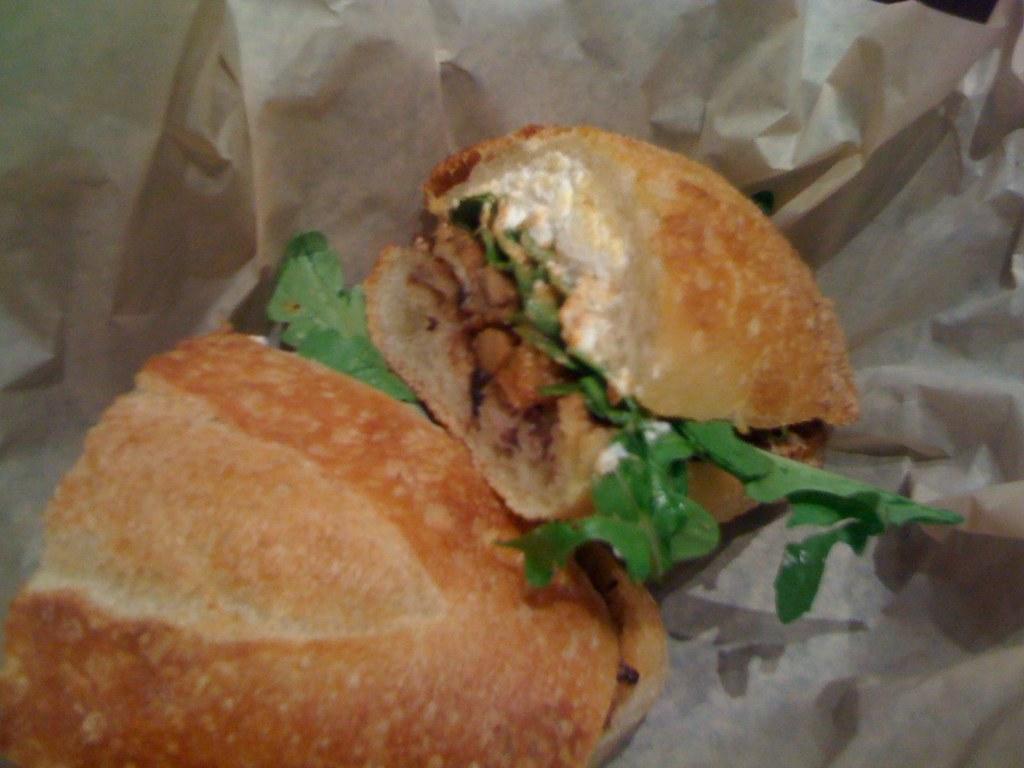 Woodland Mushroom Torta @ Xoco | Wood-roasted garlic ...