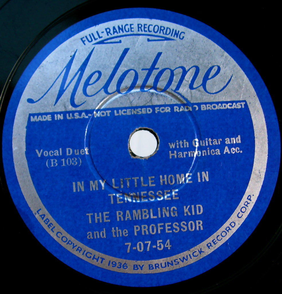Melotone vintage record label sally mcburney flickr for Classic house record labels