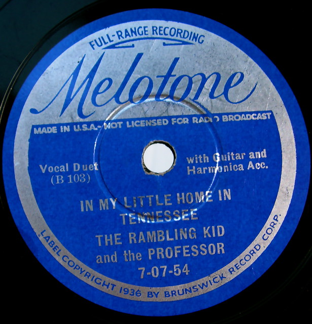 Melotone vintage record label flickr photo sharing for Classic house record labels