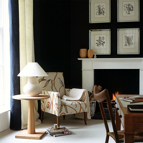 23 Best Images About Dining Room Black White Missoni: Farrow & Ball Interiors