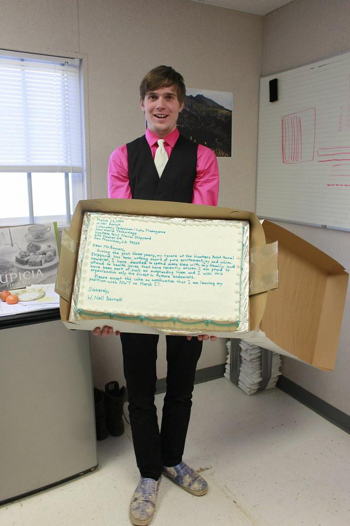 cake of resignation