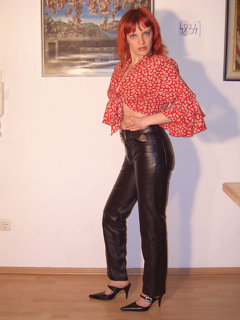 Cool Leather Pants And Jacket  My Fashionblog Wwwstreetstyleci
