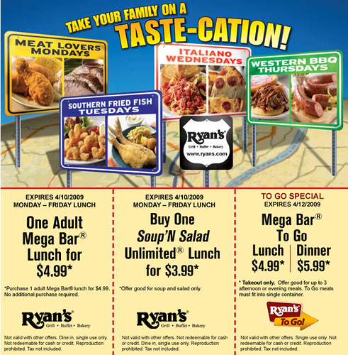 image regarding Golden Corral Printable Coupons known as Ryans coupon codes printable 2018 / Flipkart personal computer discounted
