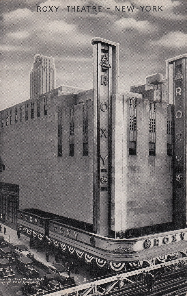 A Movie Theater In New York City