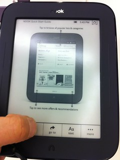 nook: Simple Touch Reader | by Kei!