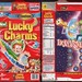 General Mills - Lucky Charms - Man-in-the-Moon Marshmallows - cereal box - 1999