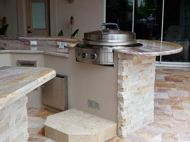 ... Evo Flat Top Grill Outdoor Kitchen | By Outdoor Kitchens U0026 Living Of  Florida