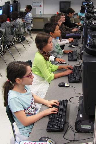computer lab - 4th grade | by woodleywonderworks