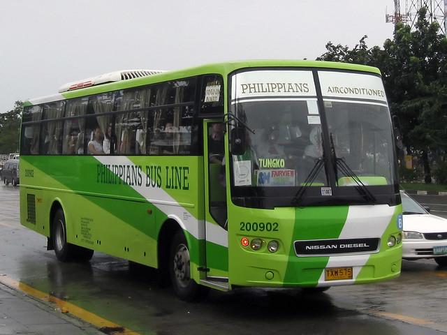 Philippians Bus Line Fleet No 200902 Reg No Txw 575