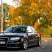 RS4 Sedan in autumn