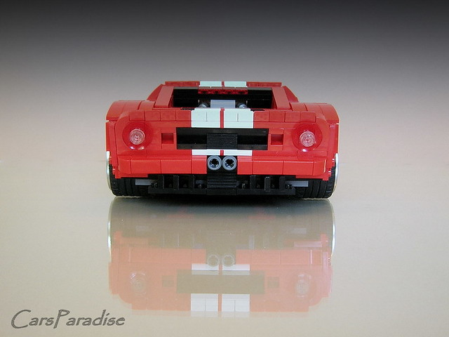 Ford Gt Rear By Firas Abu Jaber