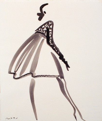 Mats Gustafson Fashion Illustration