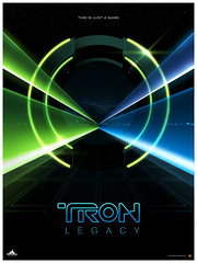 Tron Legacy poster by James White | by James Whíte