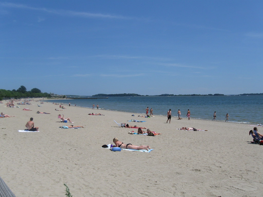 Carson Beach This Sandy Beach Owned And Maintained By