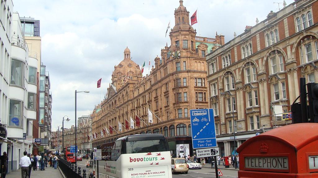 Local Shopping in London's Famous Neighbourhood's
