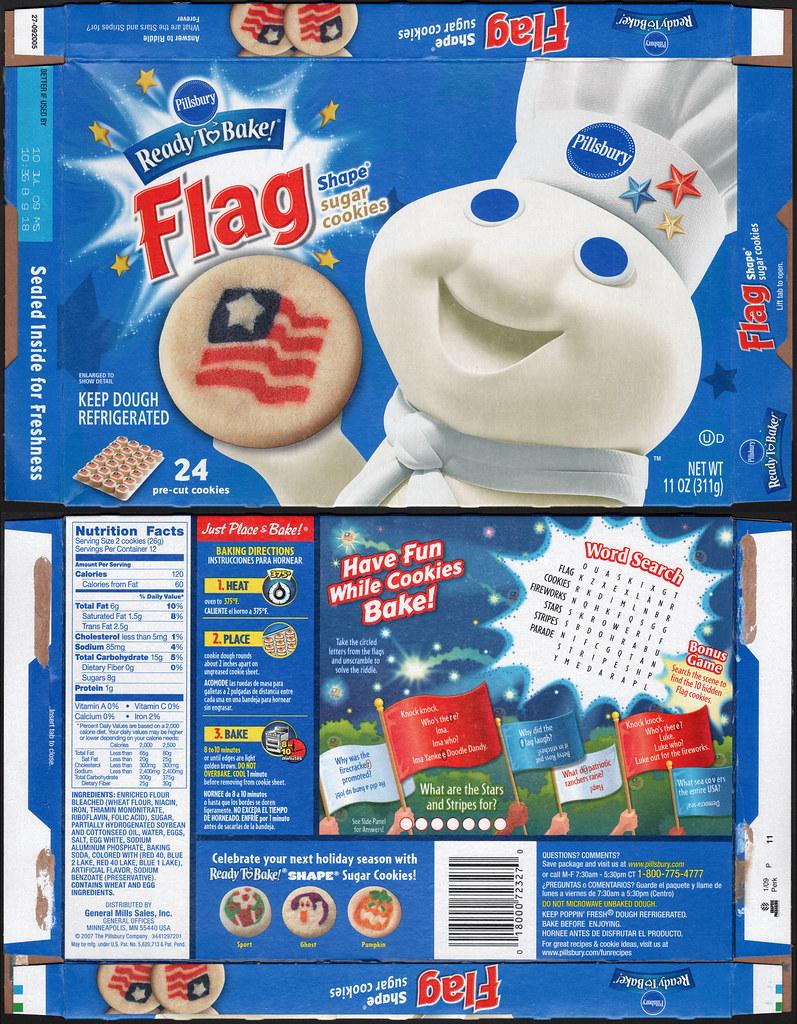 White Cake Box Cookies