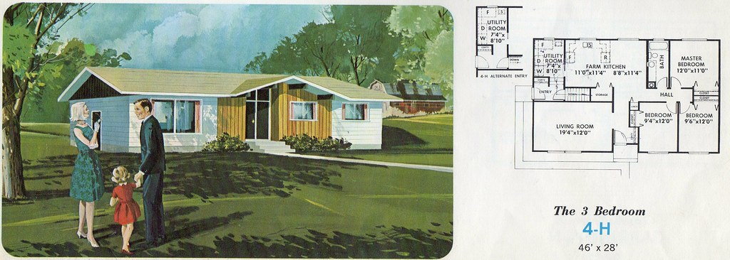 Muttart Homes Designs 4 H From The Muttart Homes Catalog