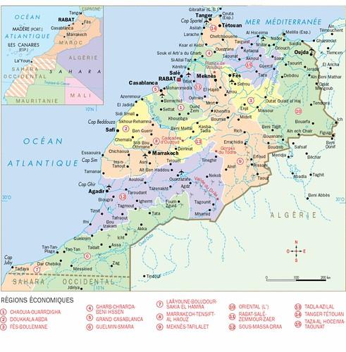 geographie du maroc-