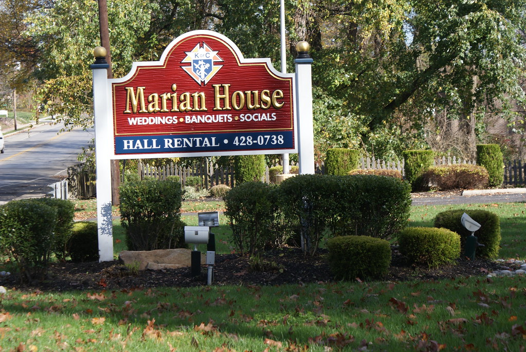 Marian house sign cherry hill john theibault flickr for Maran house