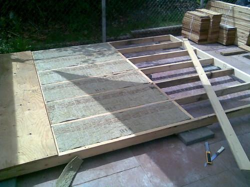 Shed Floor Insulation Floor Insulation 10x8