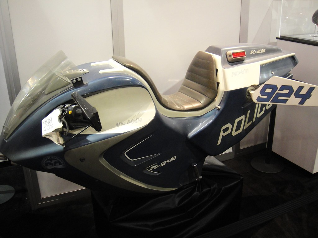 Star Trek Police Bike Prop In The Mattel Booth The