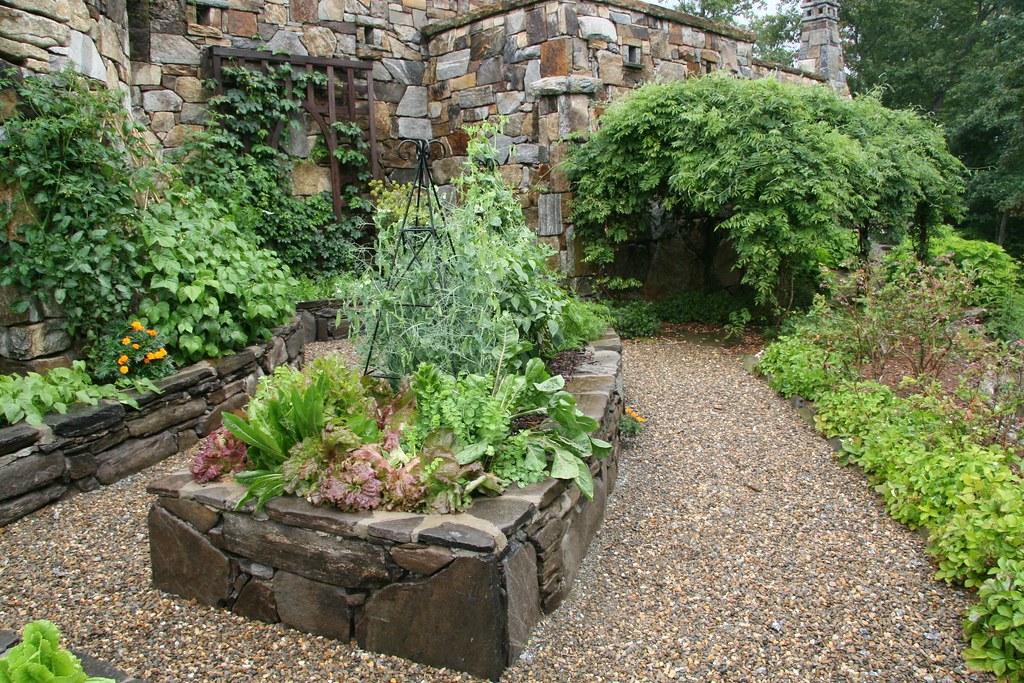 Stone Raised Beds Vegetable Garden Lauren Jolly