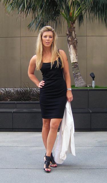 lbdlittleblack dresswhiteblazer11 wwwlovemaegan