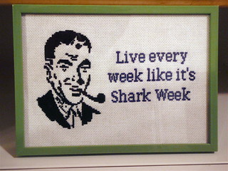 Live every week like it's Shark Week | by Stitch Out Loud