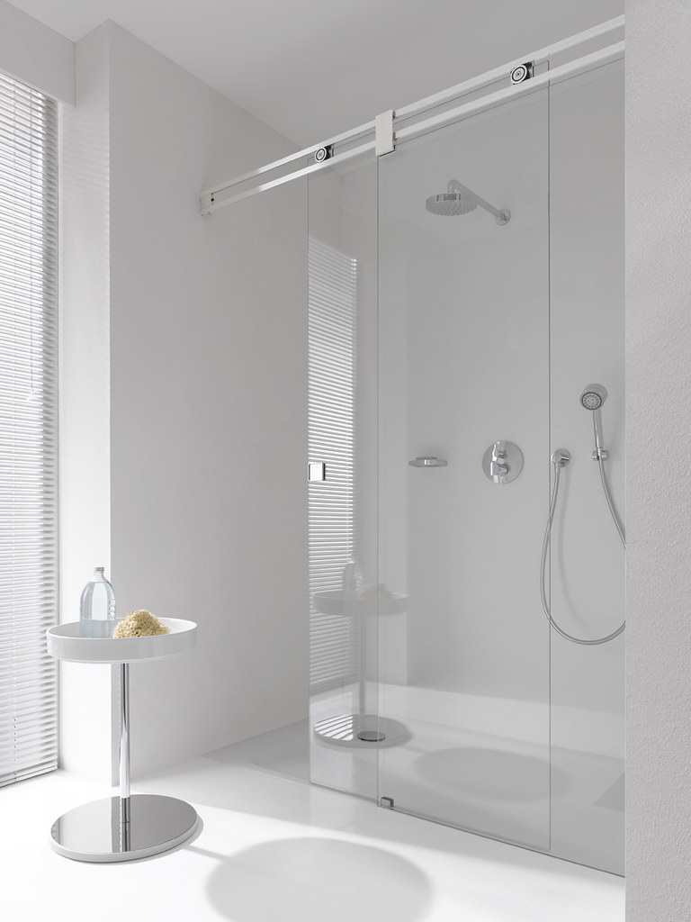 Glass Shower Systems | Any custom glass shower system can be… | Flickr