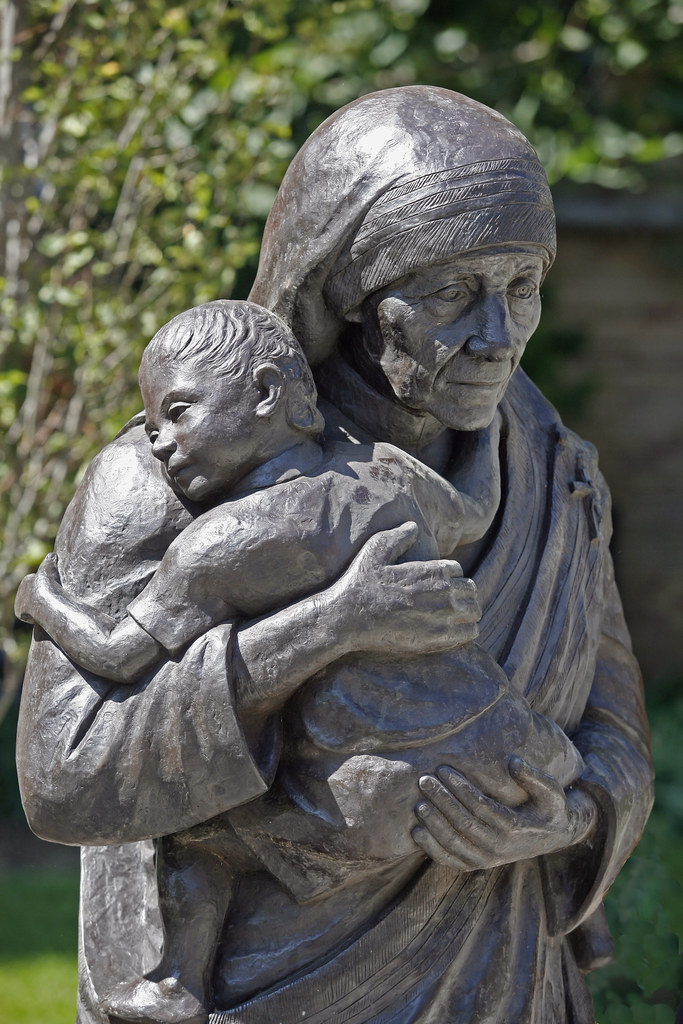 Mother Teresa statue | Marquette University | Flickr