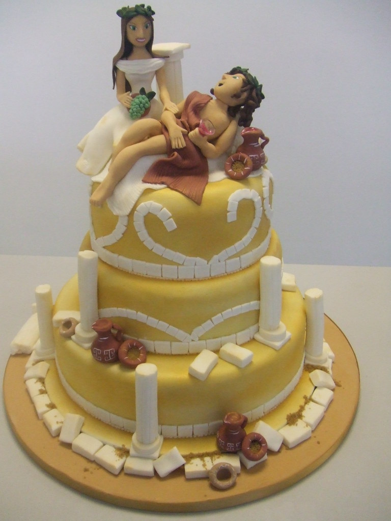 Greek Mythology Cake Decorations