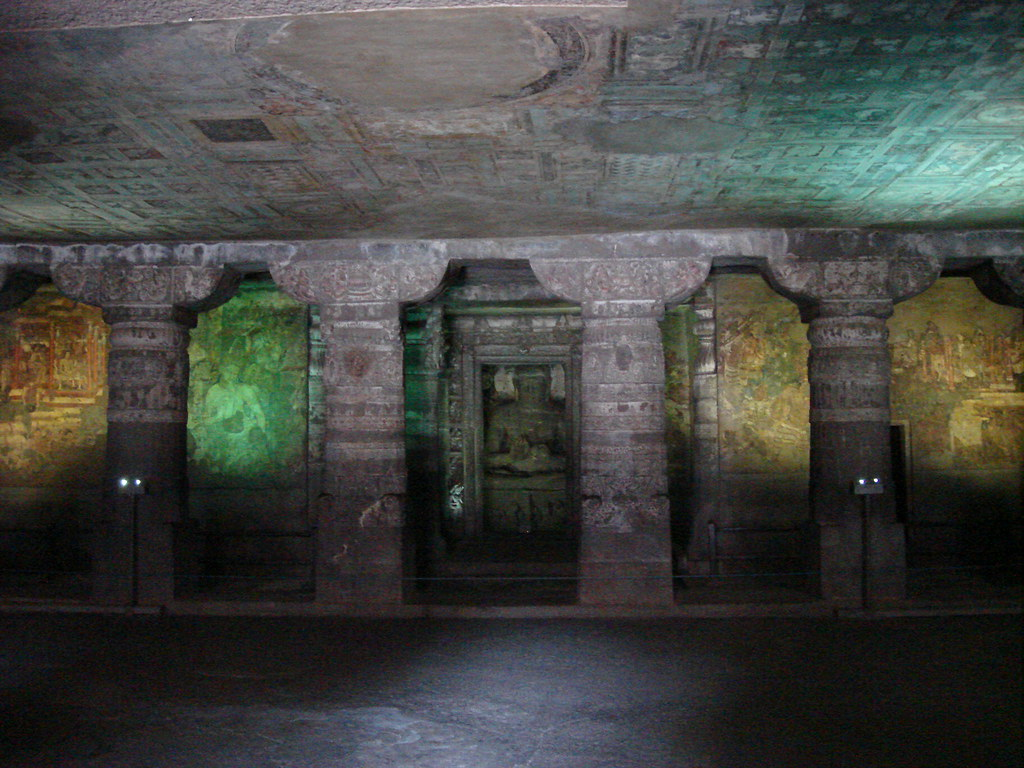 Inside The Ajanta Caves Ajanta Is A Renowned Name In The