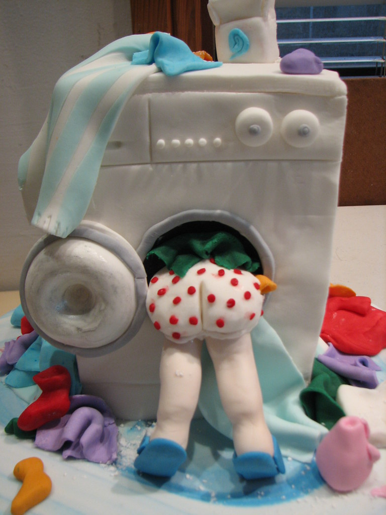 Washing Machine Cake For Enquiries Email Phillipa At