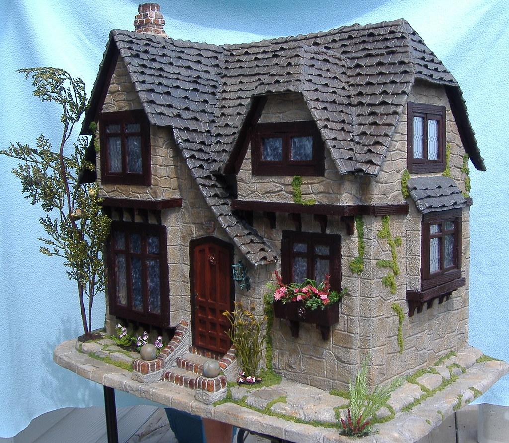 Tracy Topps Glencroft Dollhouse Kit Greenleaf By Tracy
