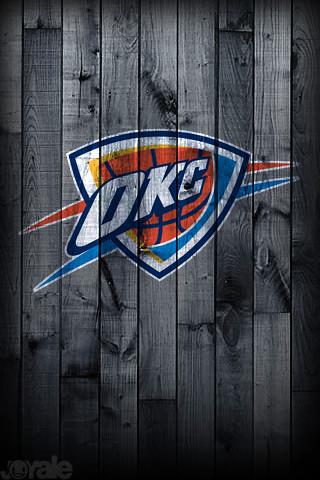okc thunder i phone wallpaper a unique nba pro team
