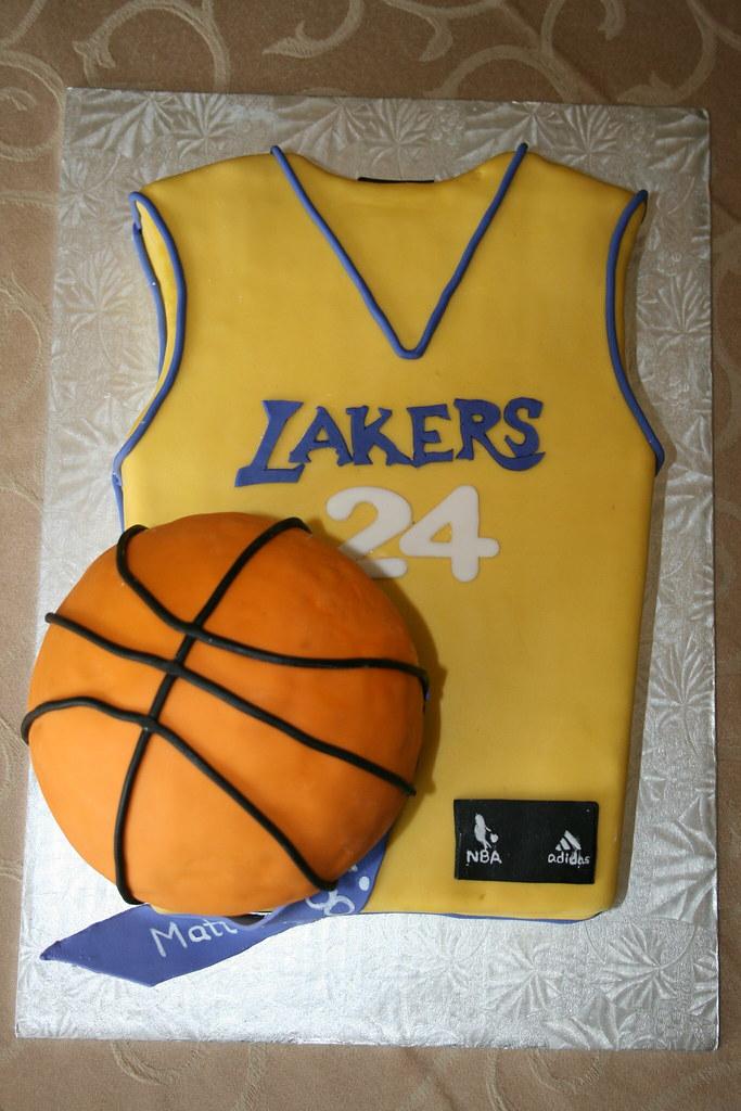 Basketball Jersey Cake Pan